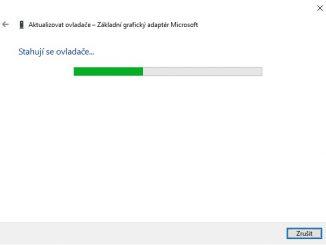 Aktualizace ovladače grafické karty nVidia ve Windows 10 - 4