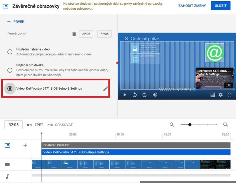 Jak nahrát video na Youtube 8