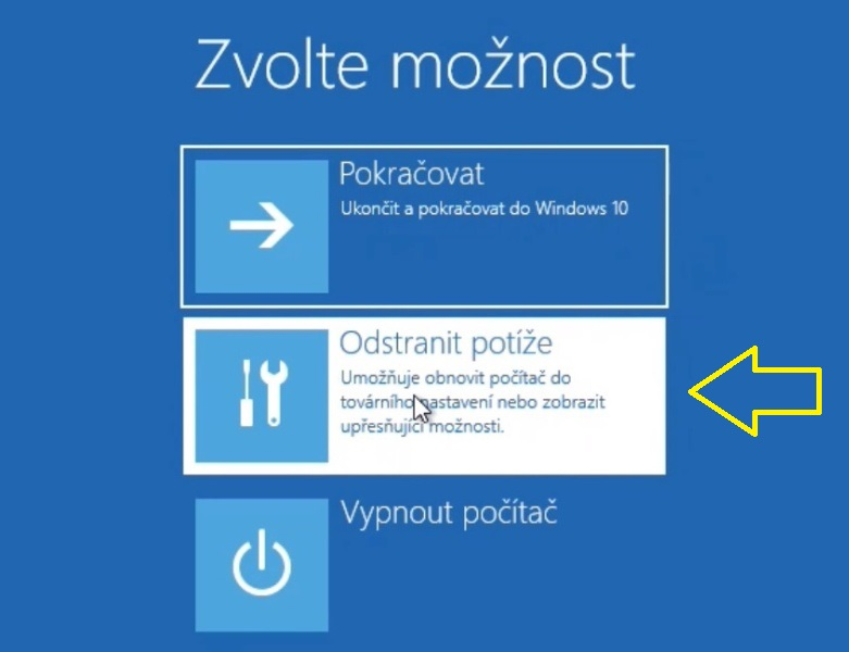 Jak se dostat do BIOSu ve Windows 10 - 2