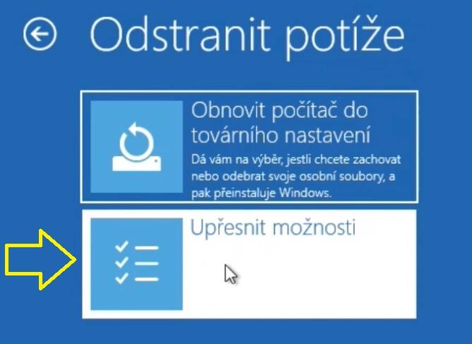 Jak se dostat do BIOSu ve Windows 10 - 3