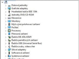 Správce zařízení Windows 10