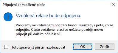 Vzdálená plocha Windows 10 - 11