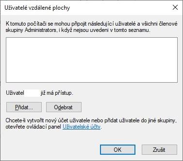 Vzdálená plocha Windows 10 - 5