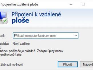 Vzdálená plocha Windows 10 - 7