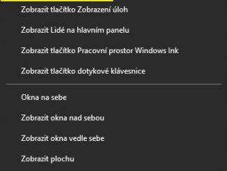 Cortana - odebrat tlačítko