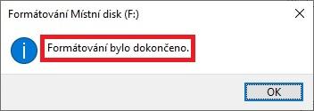 Jak formátovat disk v pc 5