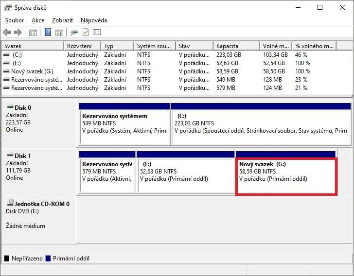 Jak rozdělit pevný disk v počítači 11