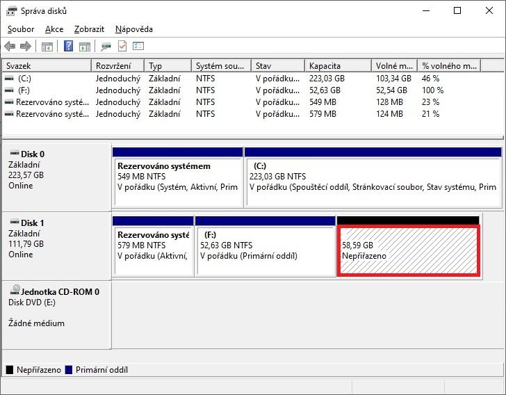 Jak rozdělit pevný disk v počítači 4
