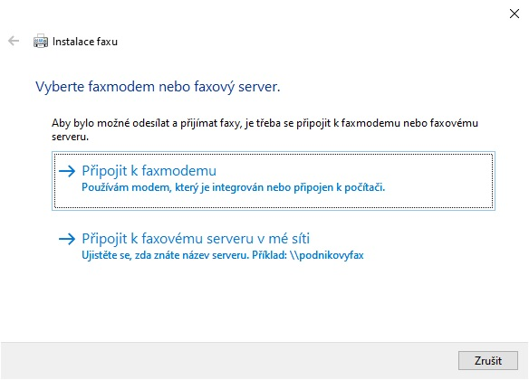 Nástroj fax a skener ve Windows 10 - 3