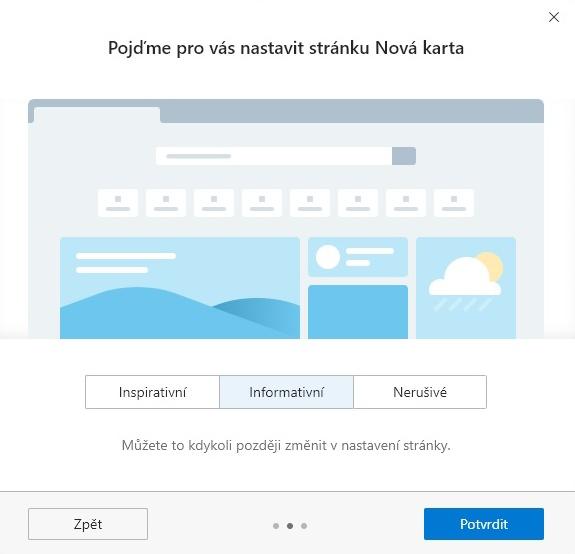 Nový Microsoft Edge 6