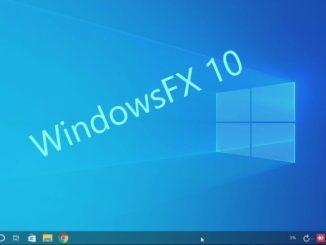 Windows FX 10 Linux