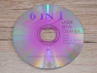 Čistící CD disk
