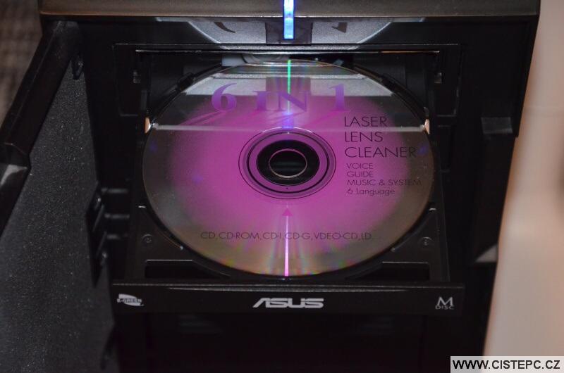 Čistící CD - DVD mechanika pc
