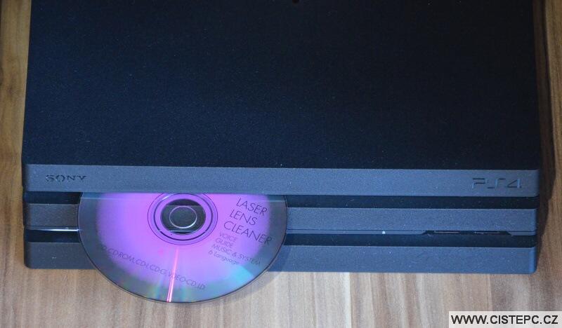 Čistící CD - Playstation 4