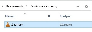 Záznam zvuku ve Windows 10 - 7