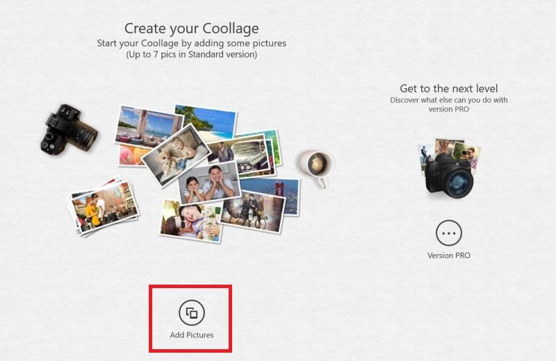 Coollage aplikace 2