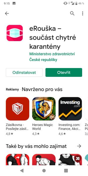 eRouška aplikace 02