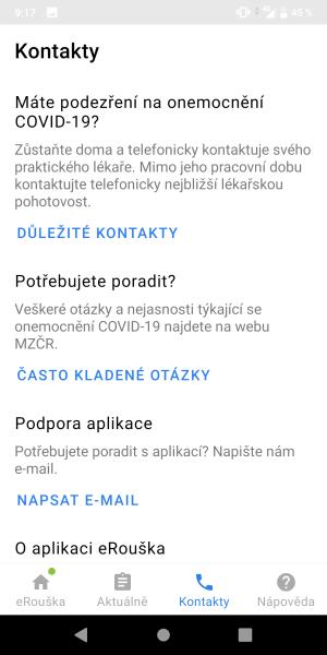 eRouška aplikace 10
