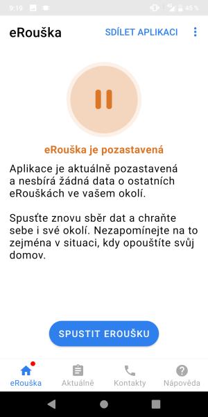 eRouška aplikace 14