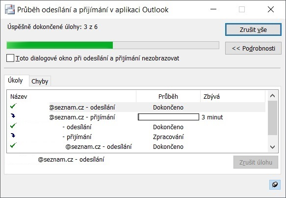 Outlook pošta 4