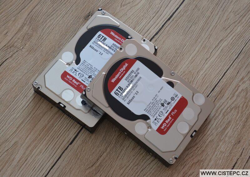 Pevné disky Western Digital red Plus 6TB WD60EFRX
