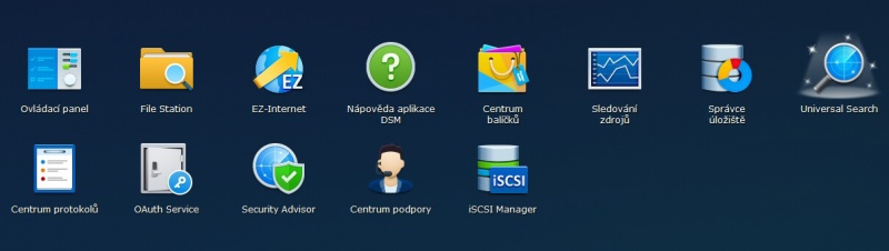 Synology Diskstation Manager instalace 15