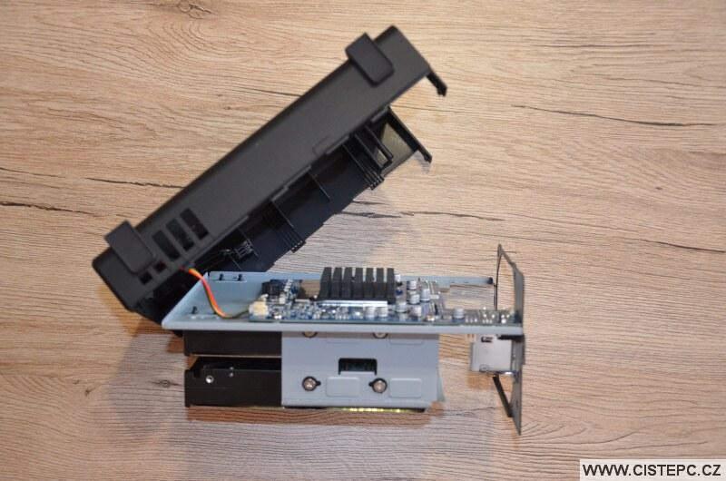 Výměna ventilátoru NAS Synology 5