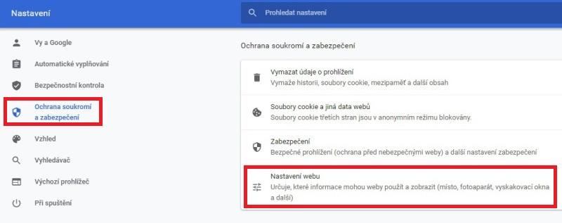 Jak blokovat oznámení v Google Chrome 1