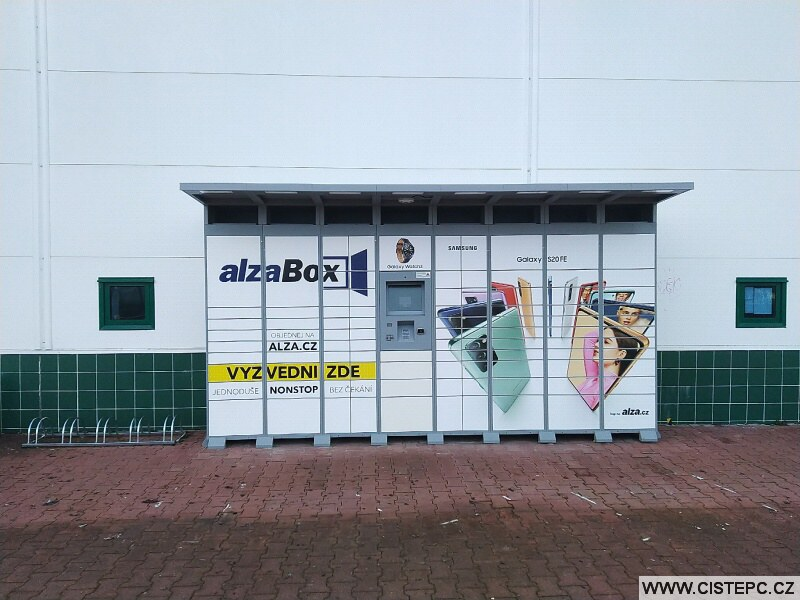 AlzaBox v Ústí nad Labem