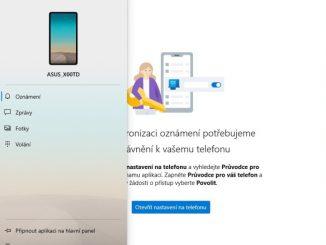 Propojení mobilu Android s Windows 10 - 6