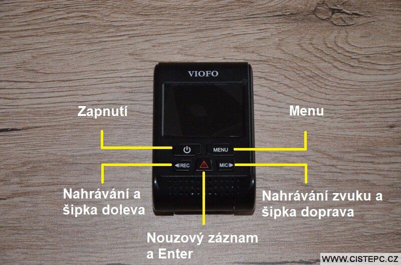 Viofo a119 v3 kamera do auta 1
