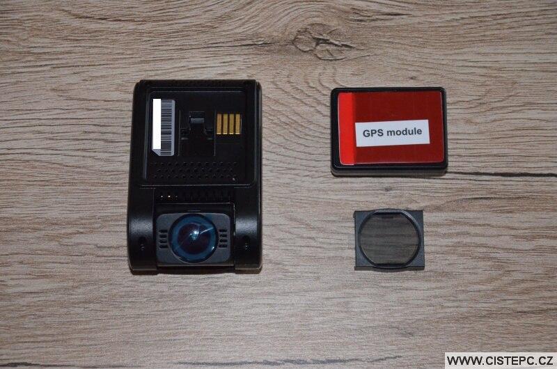 Viofo a119 v3 kamera s GPS modulem