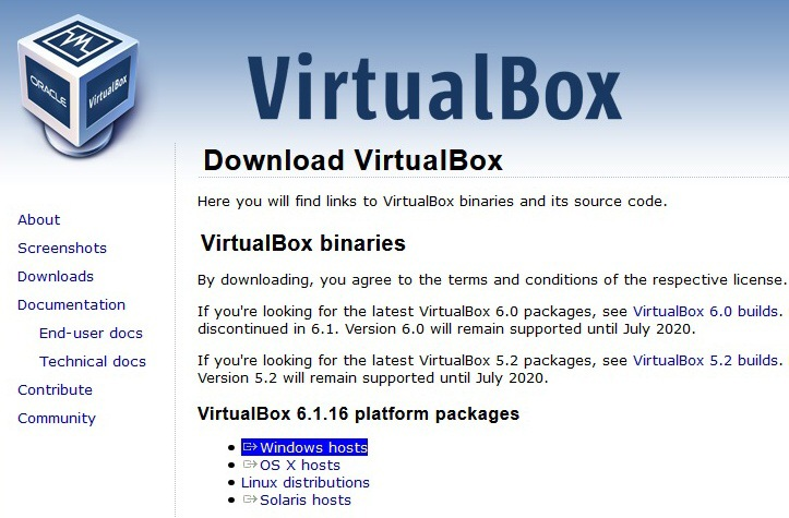 Virtualbox instalace 02