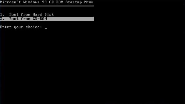 Windows 98 instalace 01