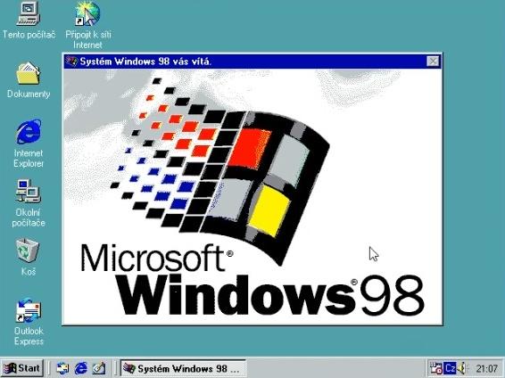 Windows 98 instalace 24