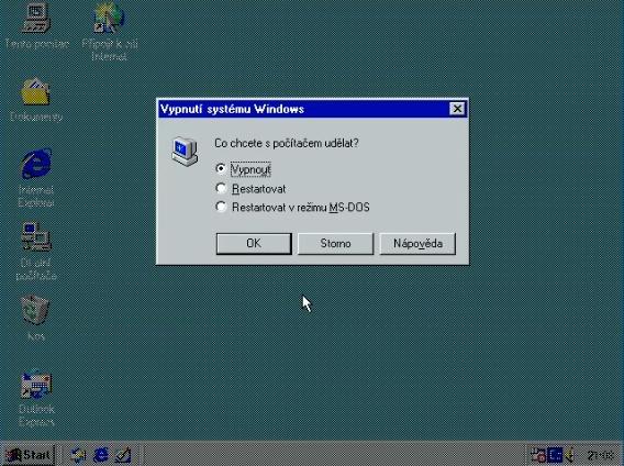 Windows 98 instalace 29