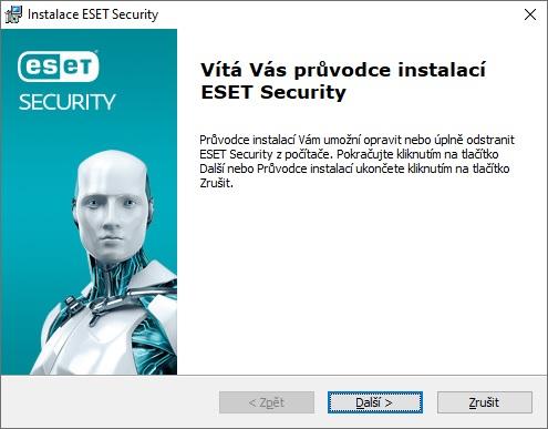 ESET rezidentní ochrana souborového systému není funkční 5