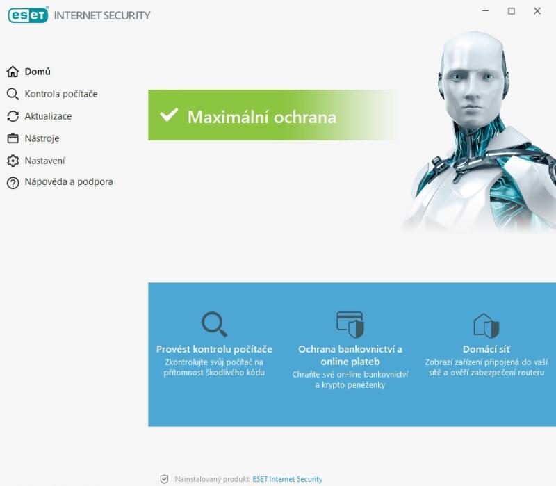 ESET rezidentní ochrana souborového systému