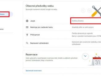 Jak změnit jazyk v účtu Google 2