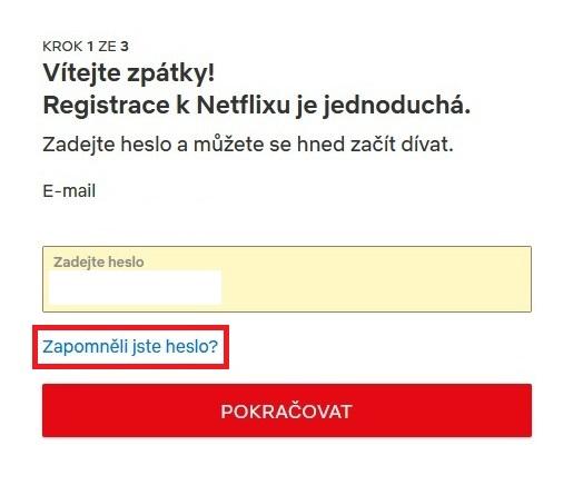 Netflix přihlášení 03