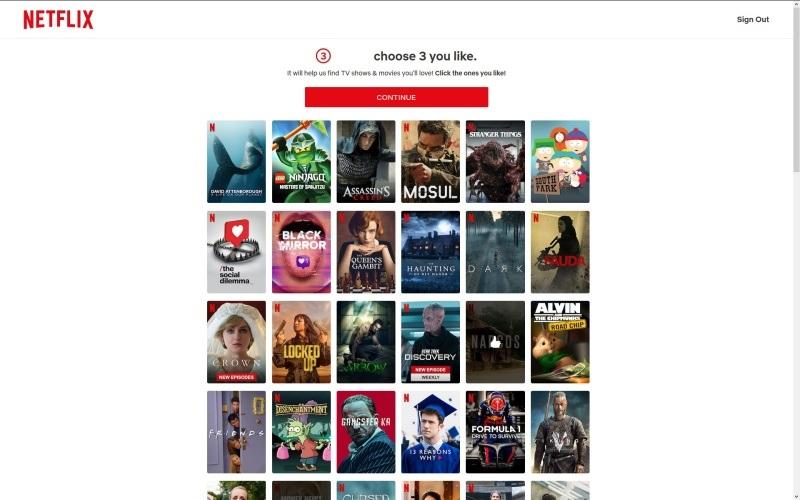 Netflix přihlášení 18