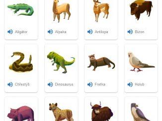 Zvuky zvířat online