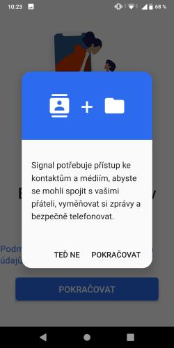 Signal aplikace 04