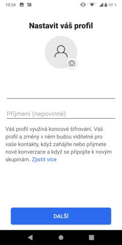 Signal aplikace 10