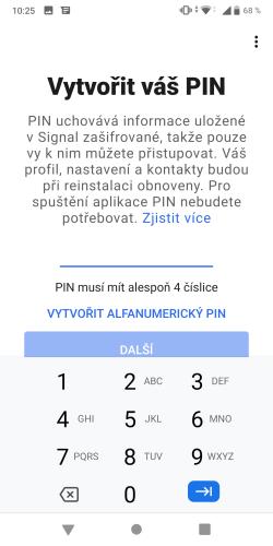 Signal aplikace 11