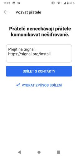 Signal aplikace 15