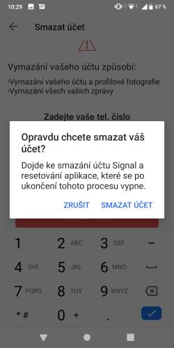 Signal aplikace 17