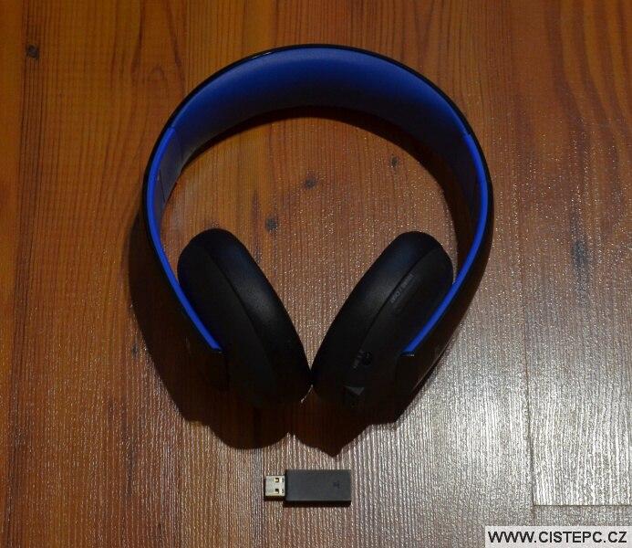 Sony bezdrátová sluchátka