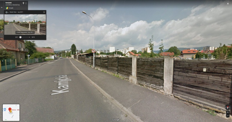 Street View Google mapy 3