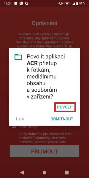 ACR - aplikace na nahrávání hovorů 5